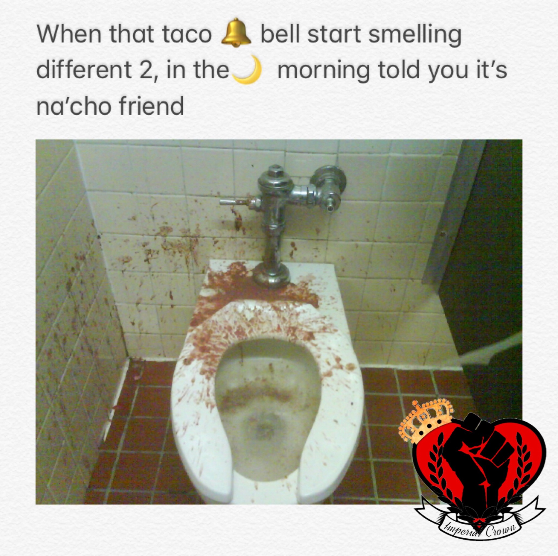 When that Taco Bell…..