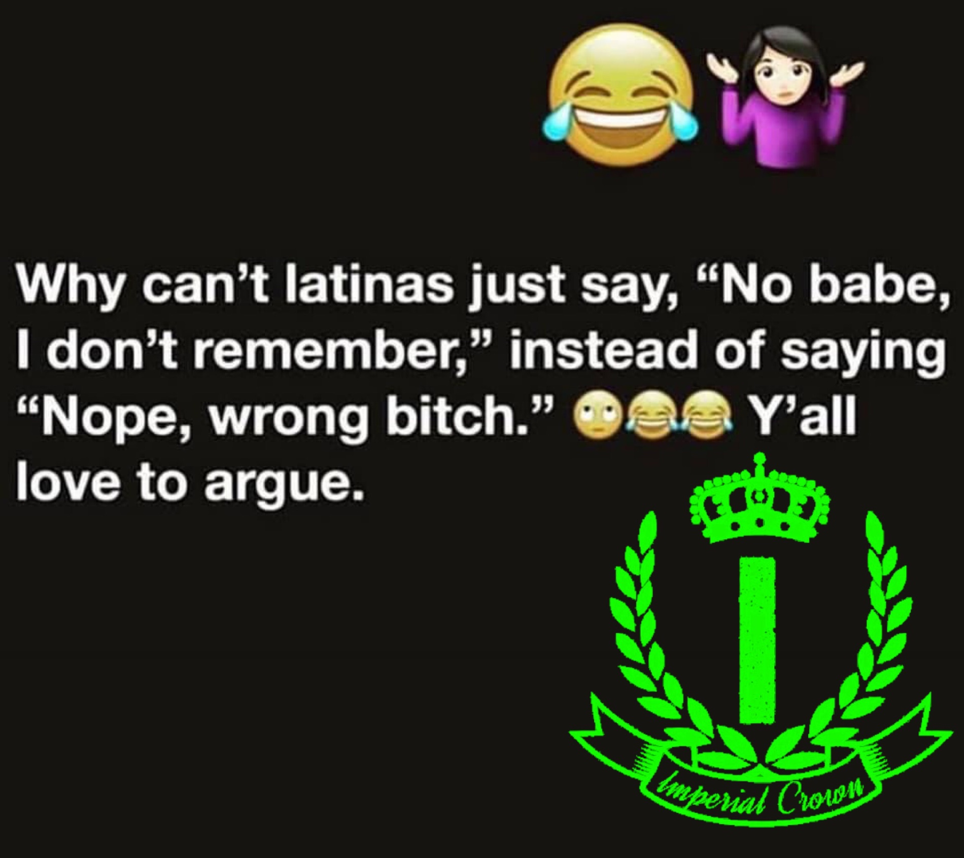 Why can't latinas