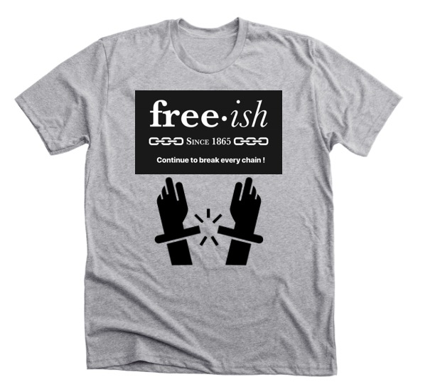 Freeish • Grey • Black • Premium T Shirt
