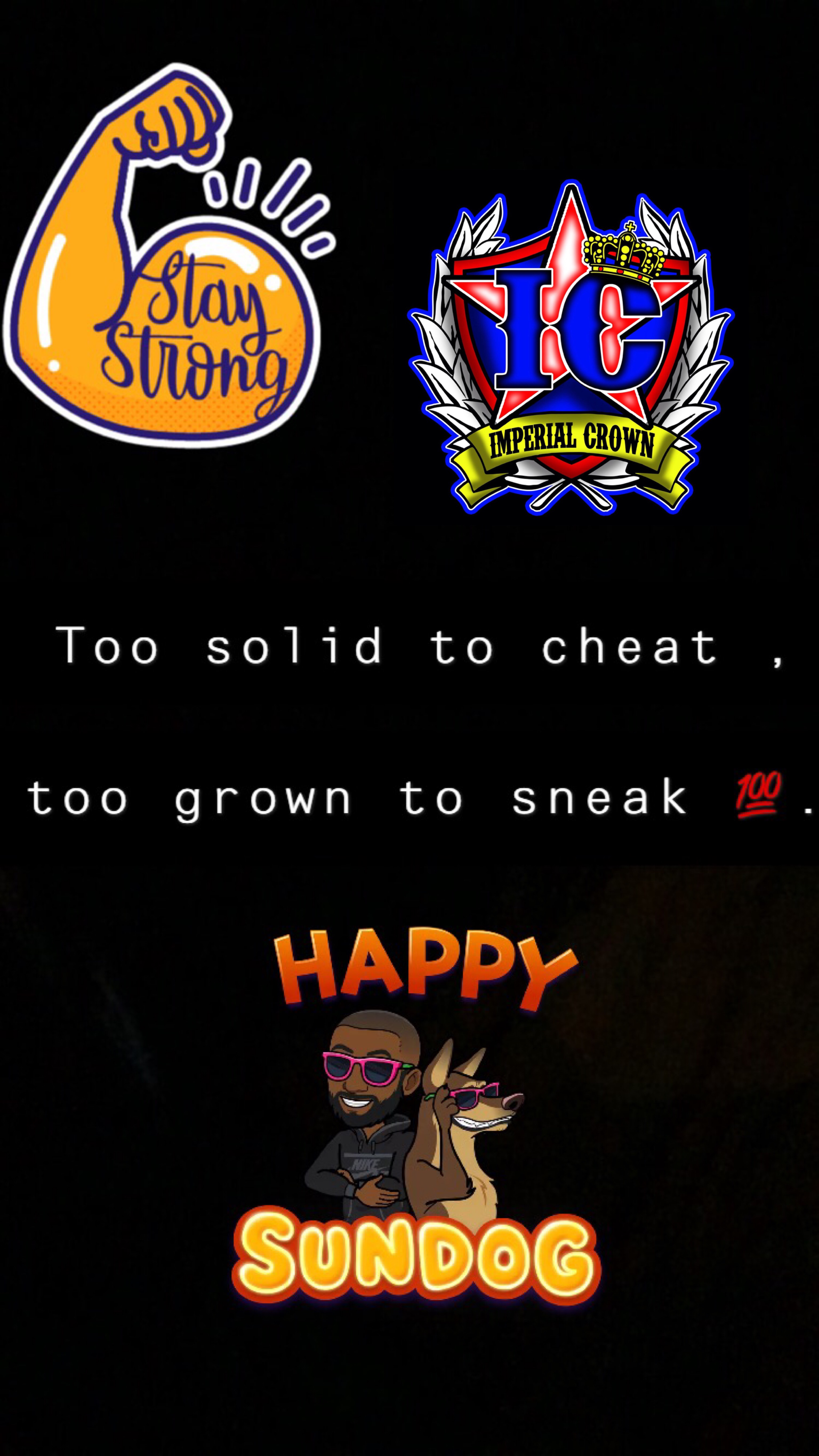 Too solid to cheat….
