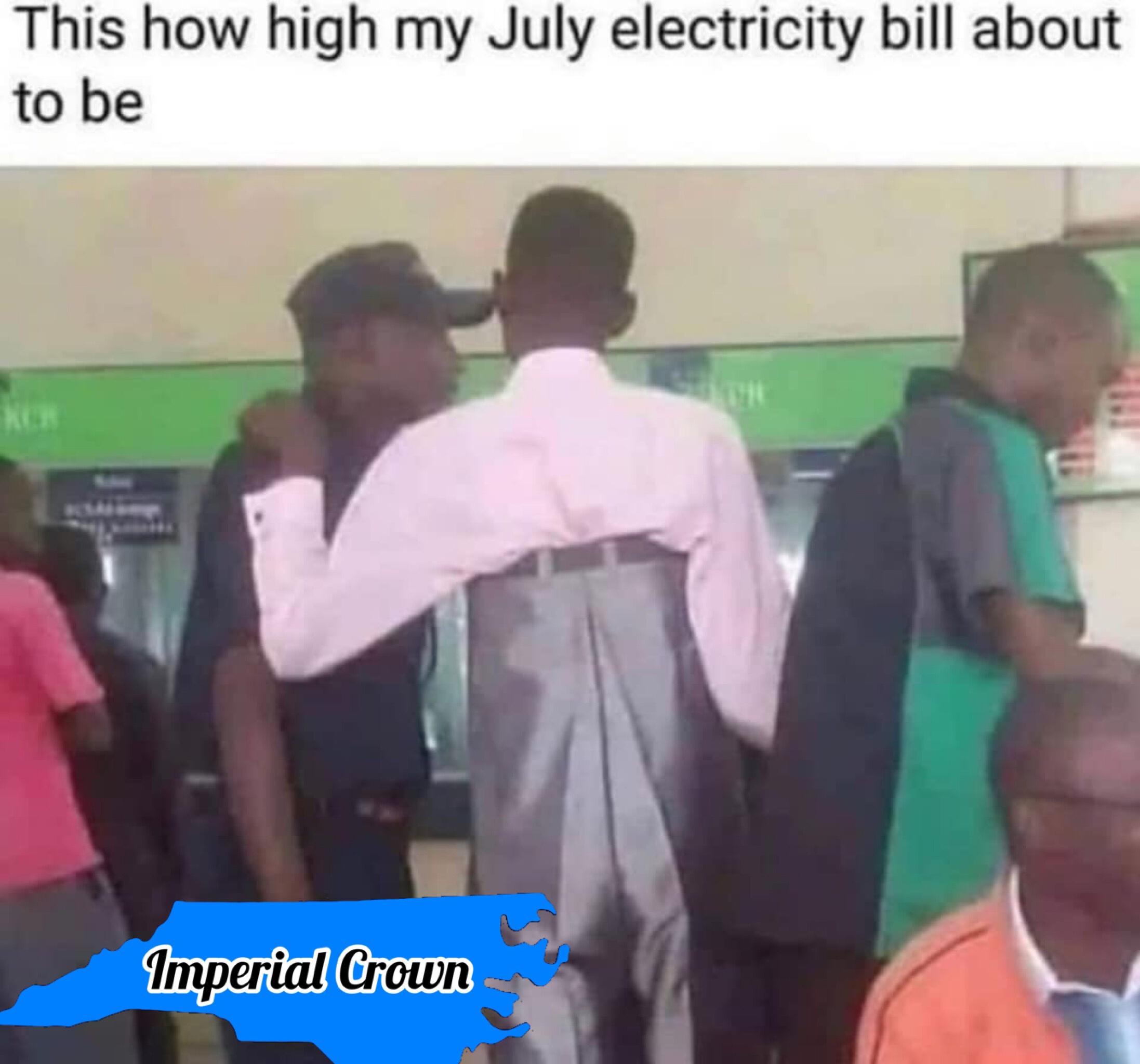 This how high my July electric….