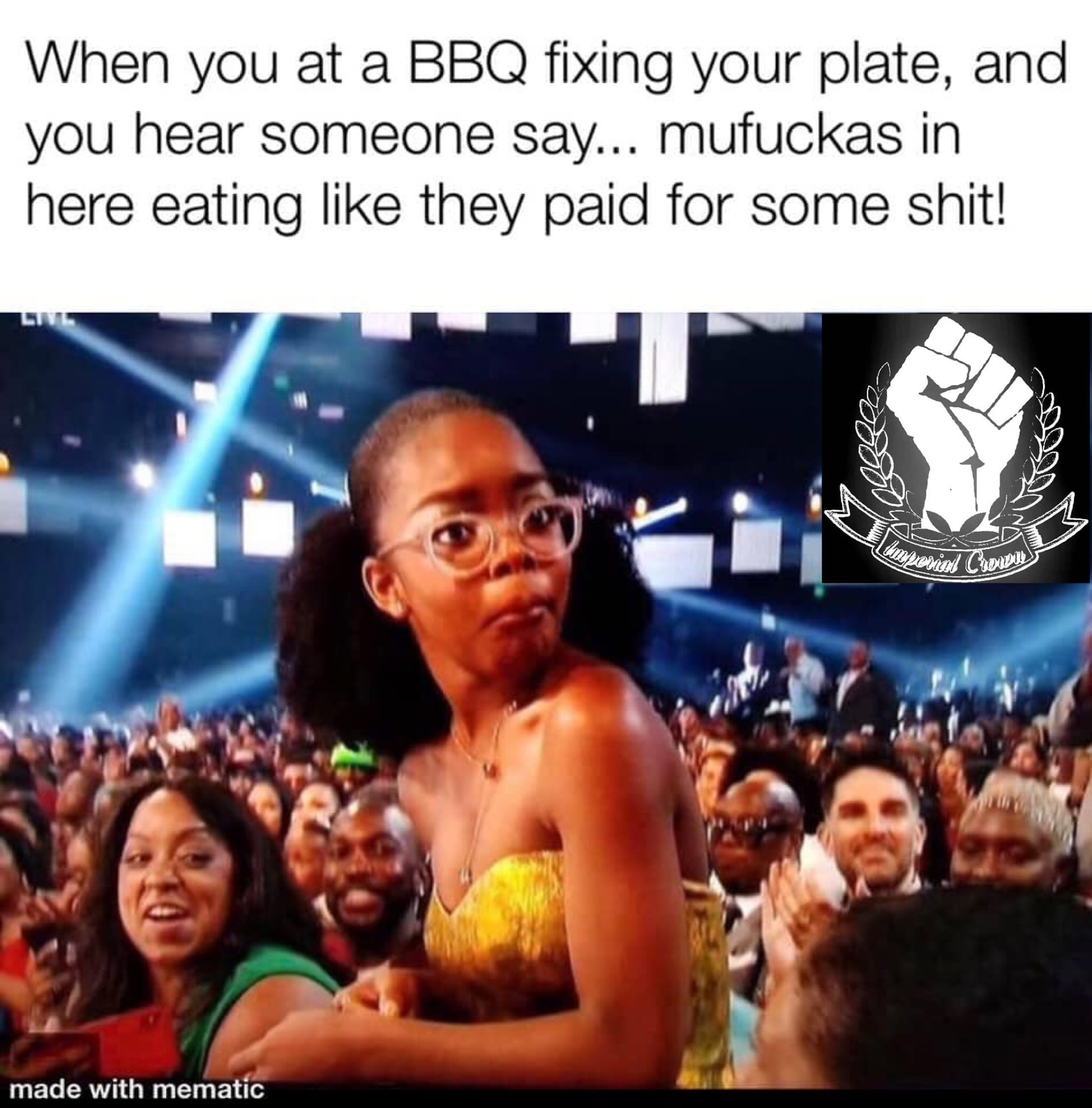 When you at a BBQ …