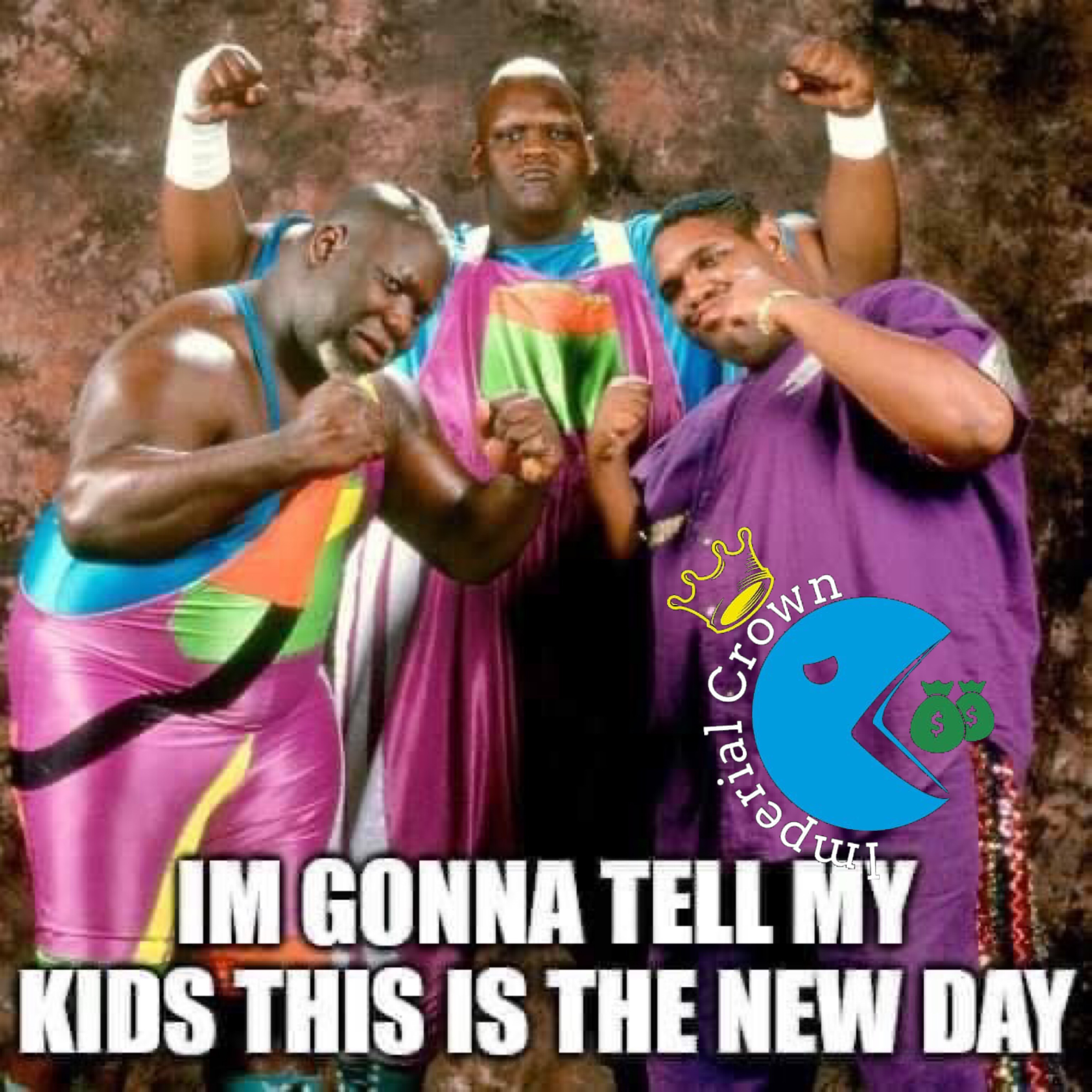 I'm gonna tell my kids this is the new day