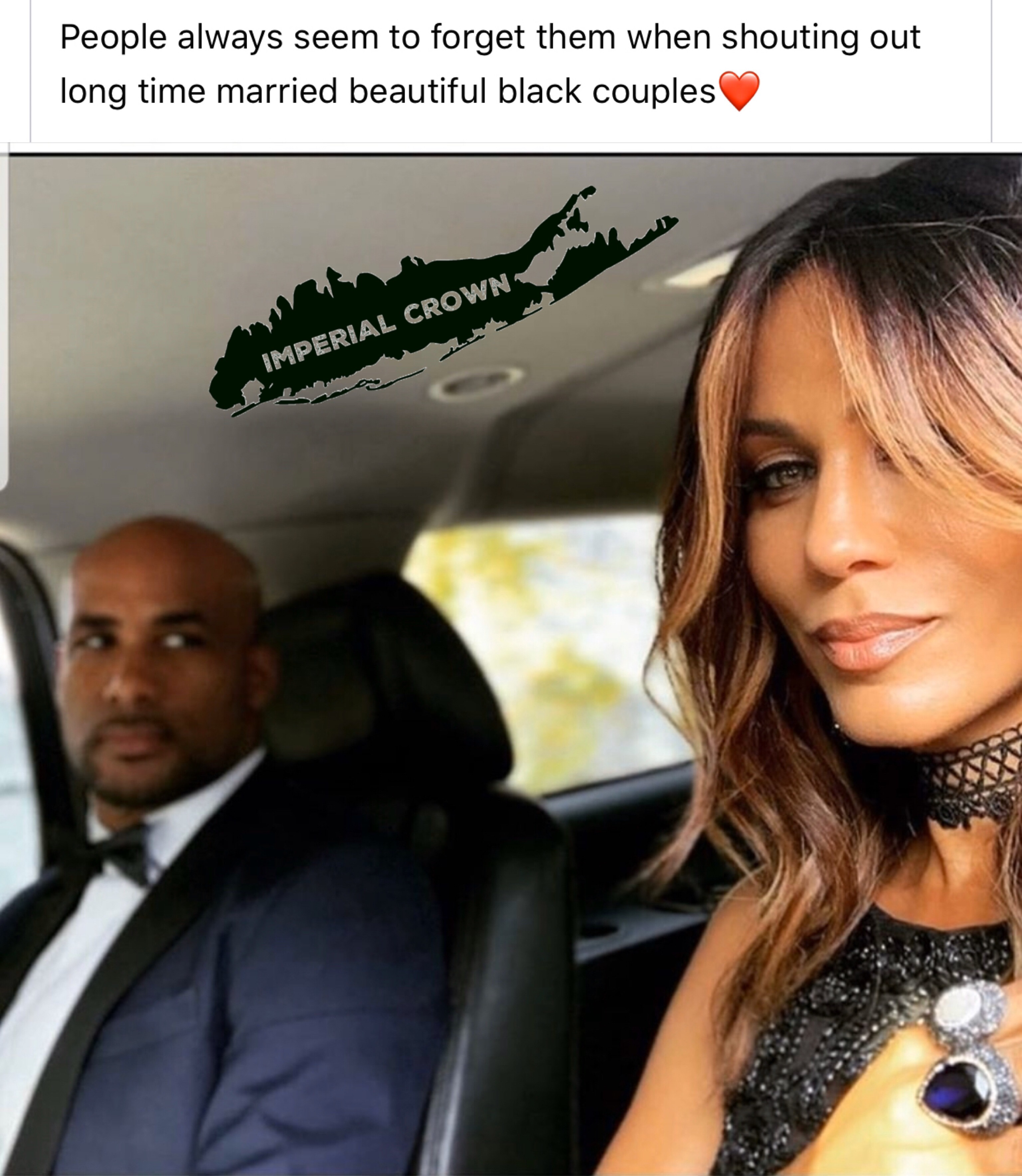 People always seem to forget them when shouting out long time married beautiful black couples