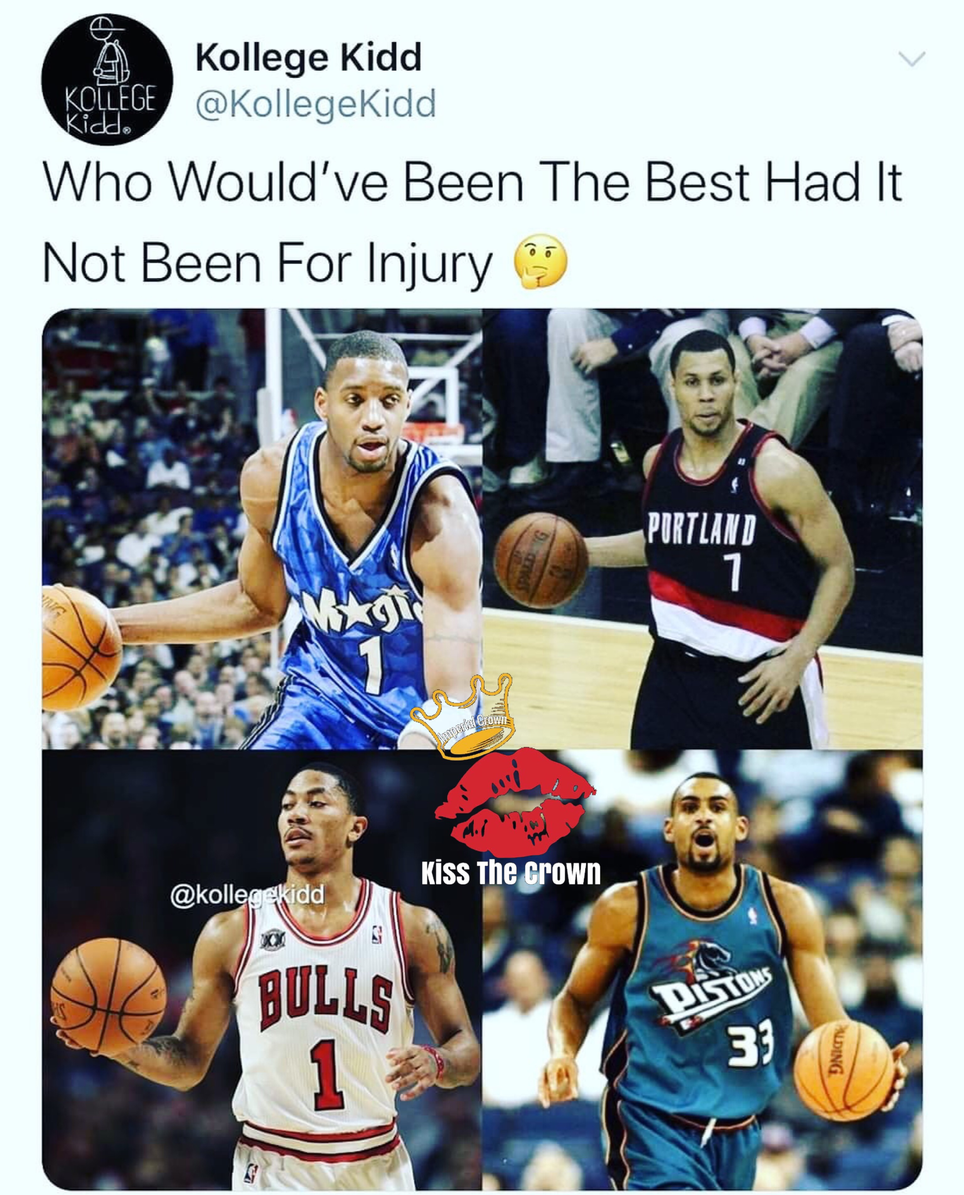 Who would've been the best had it not been for injury