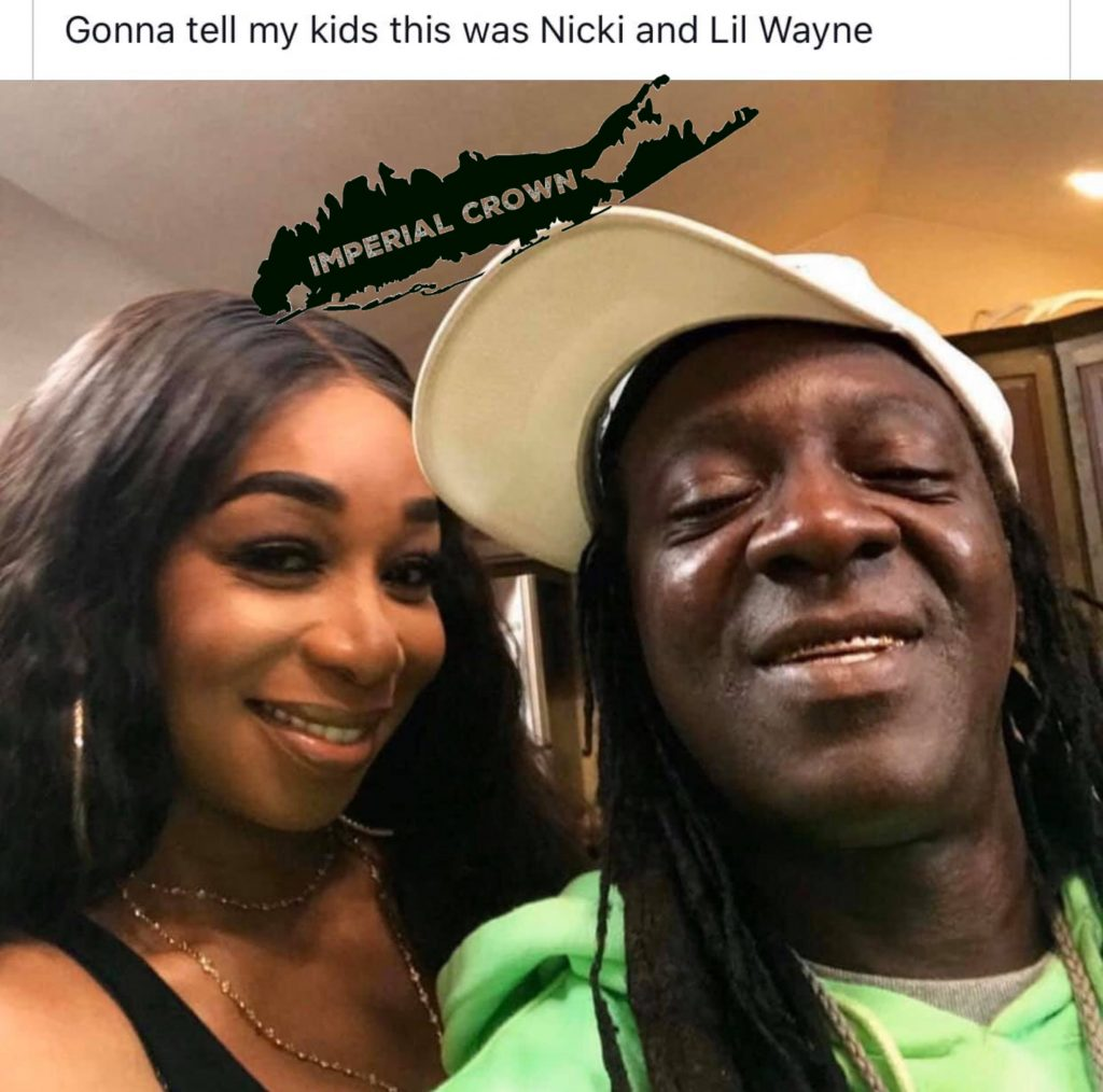 Gonna tell my kids this was nicki and Lil Wayne