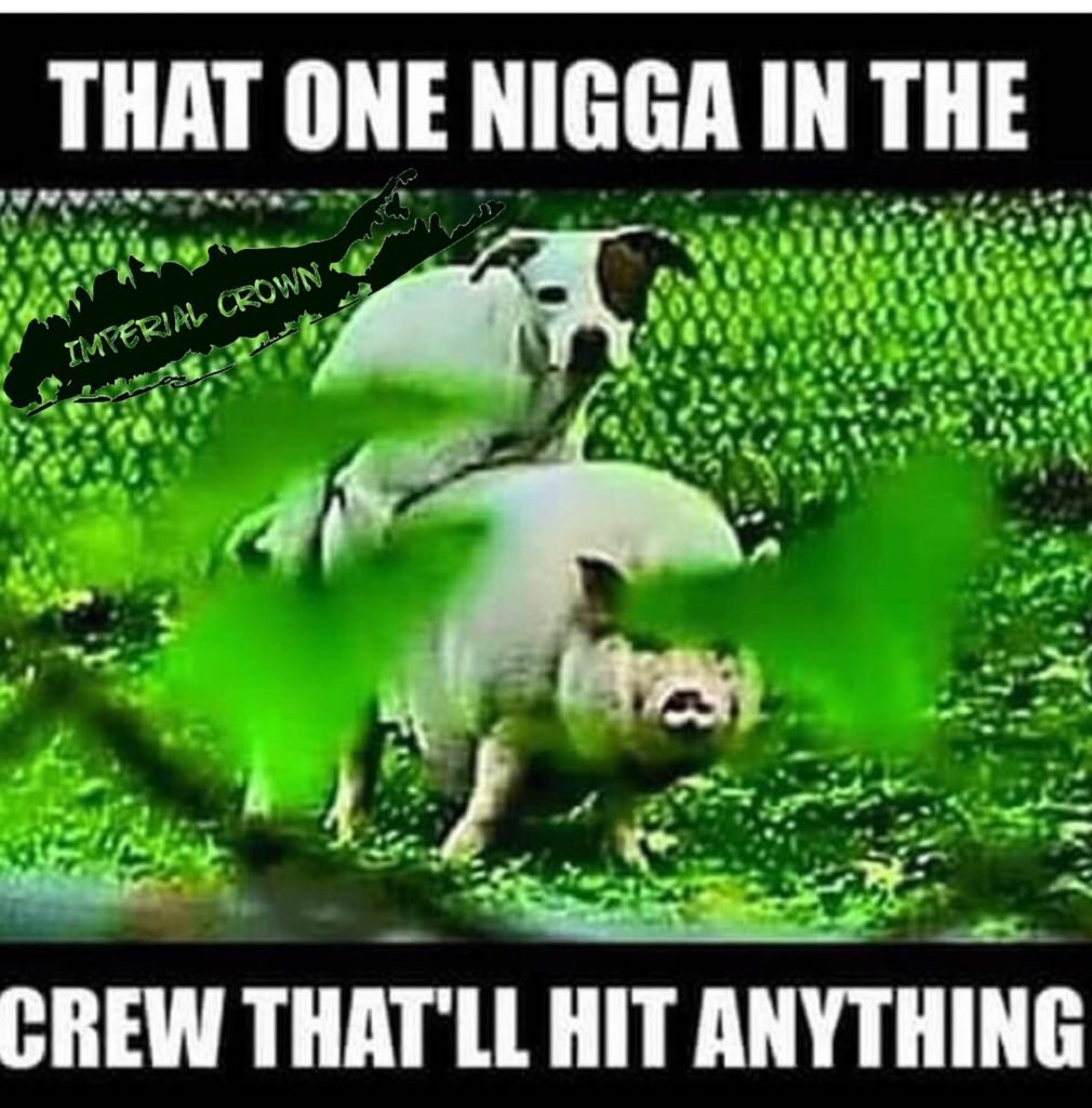 That one nigga in the crew that'll hit anything