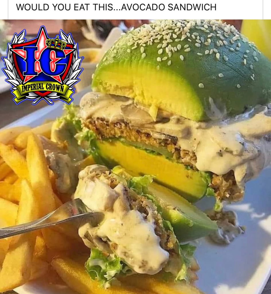 Would you eat this…avocado sandwich