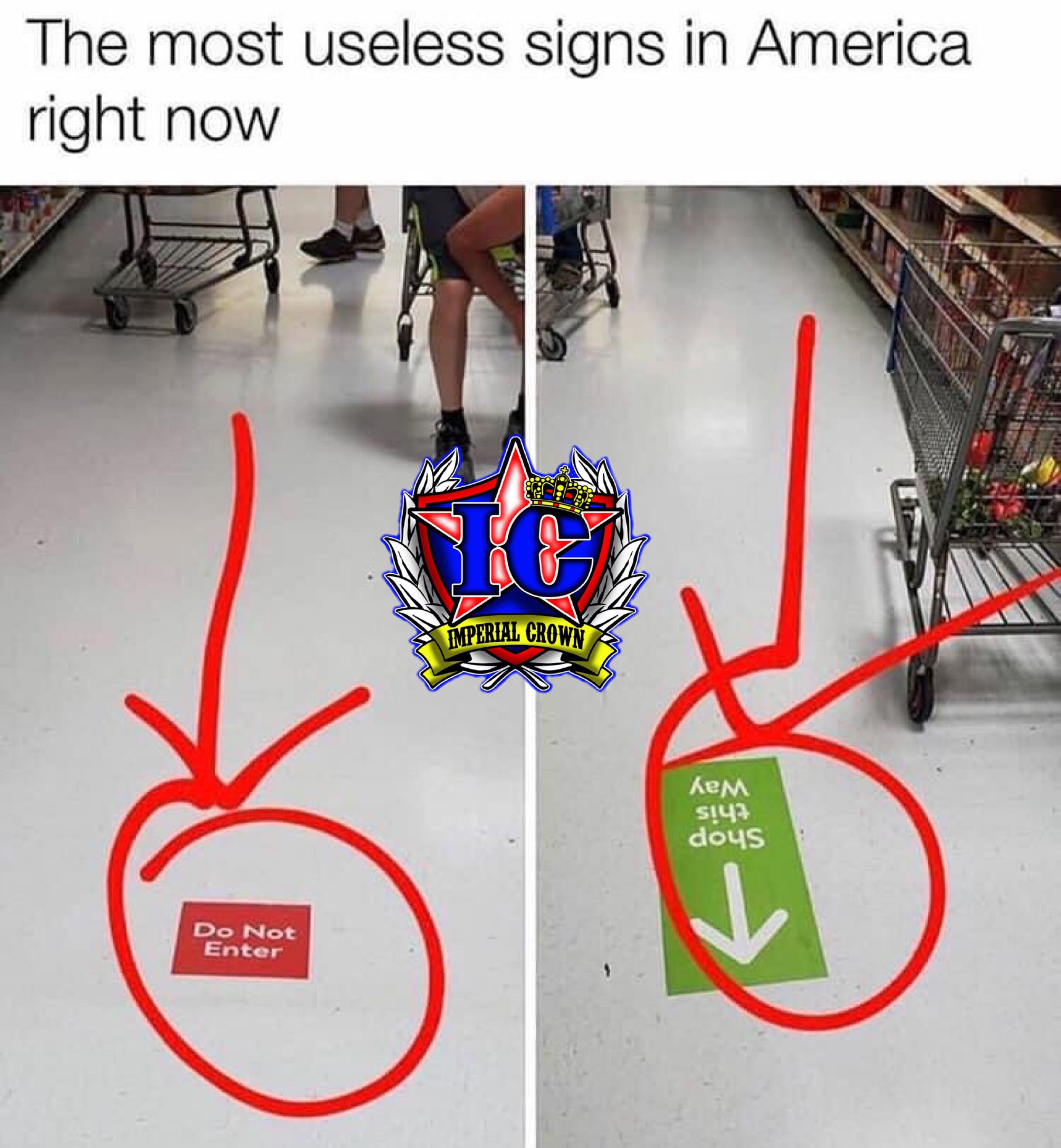 The most useless signs in America right now