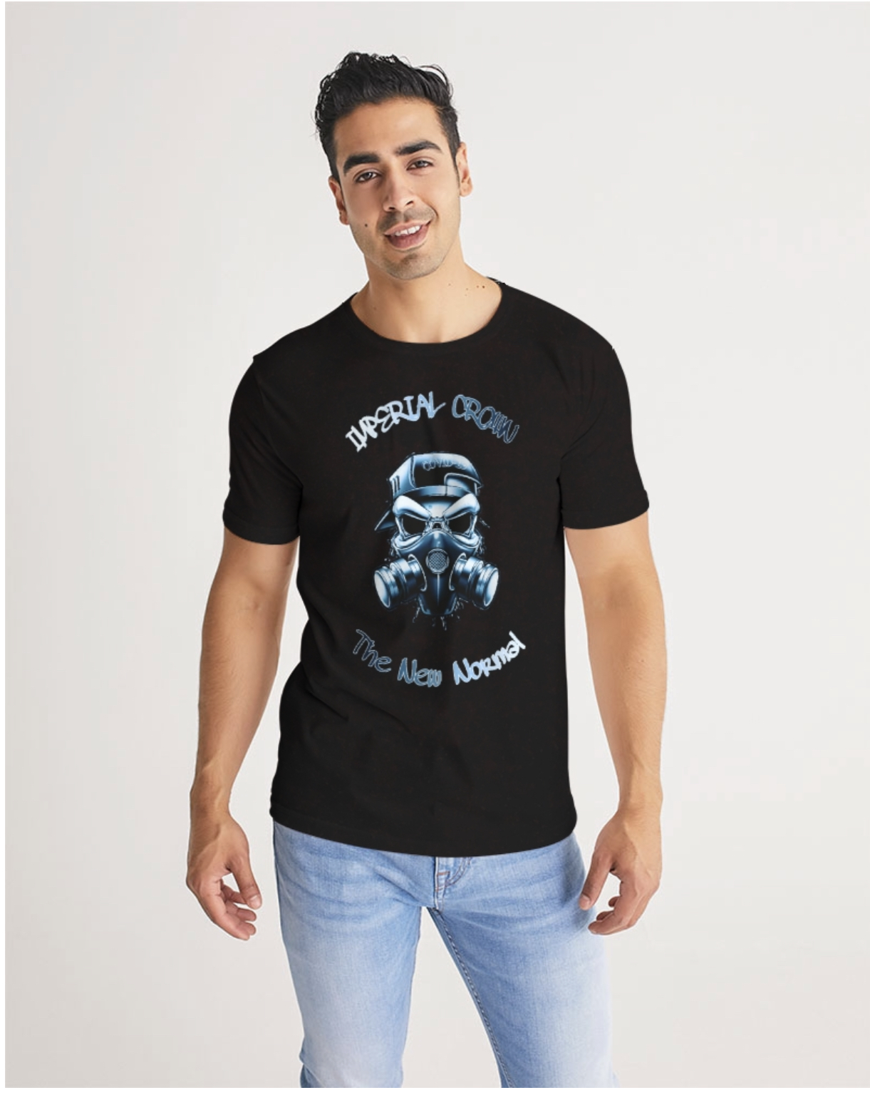 The New norm Premium black T shirt