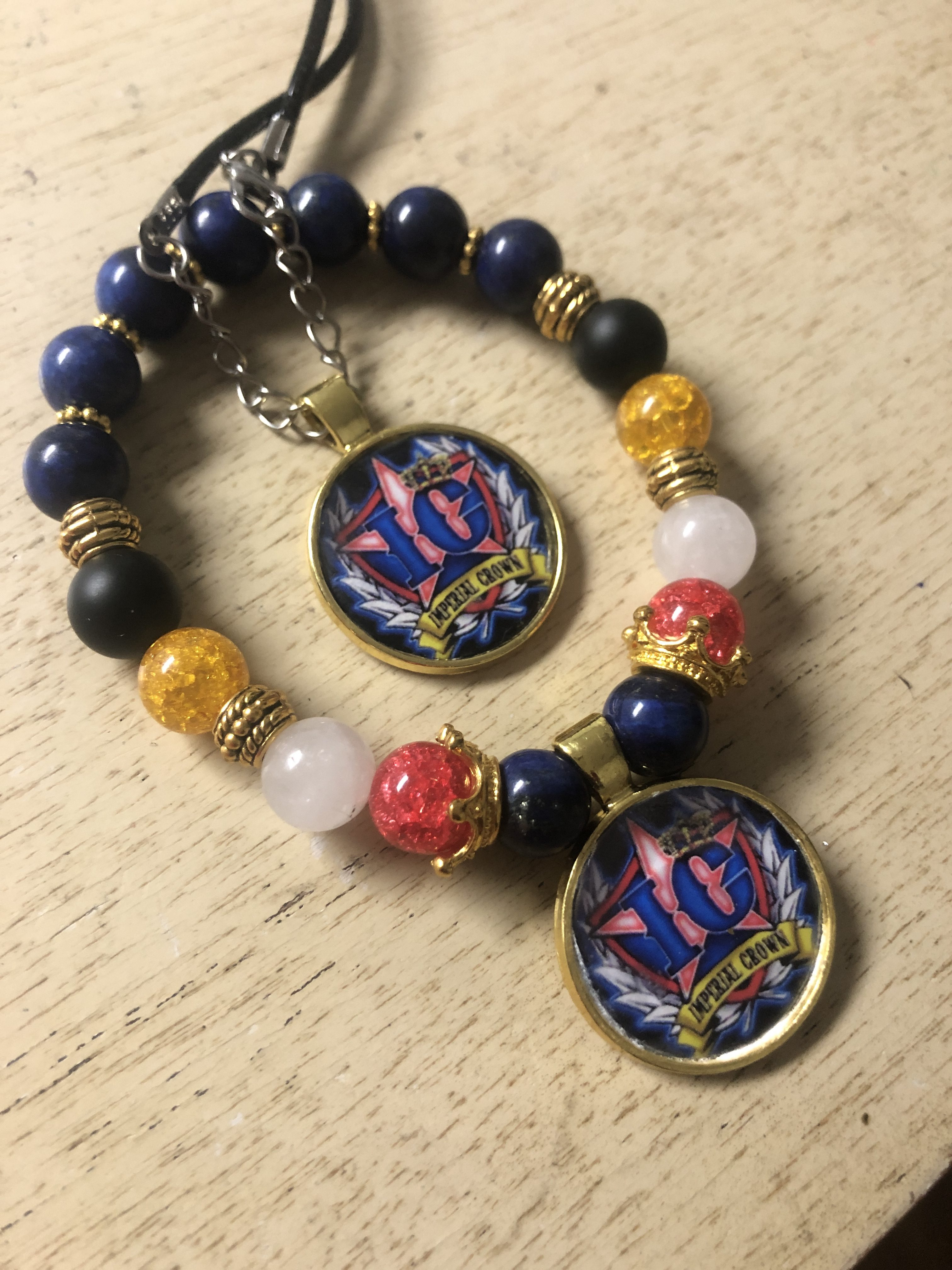 IC multi color unisex bracelet