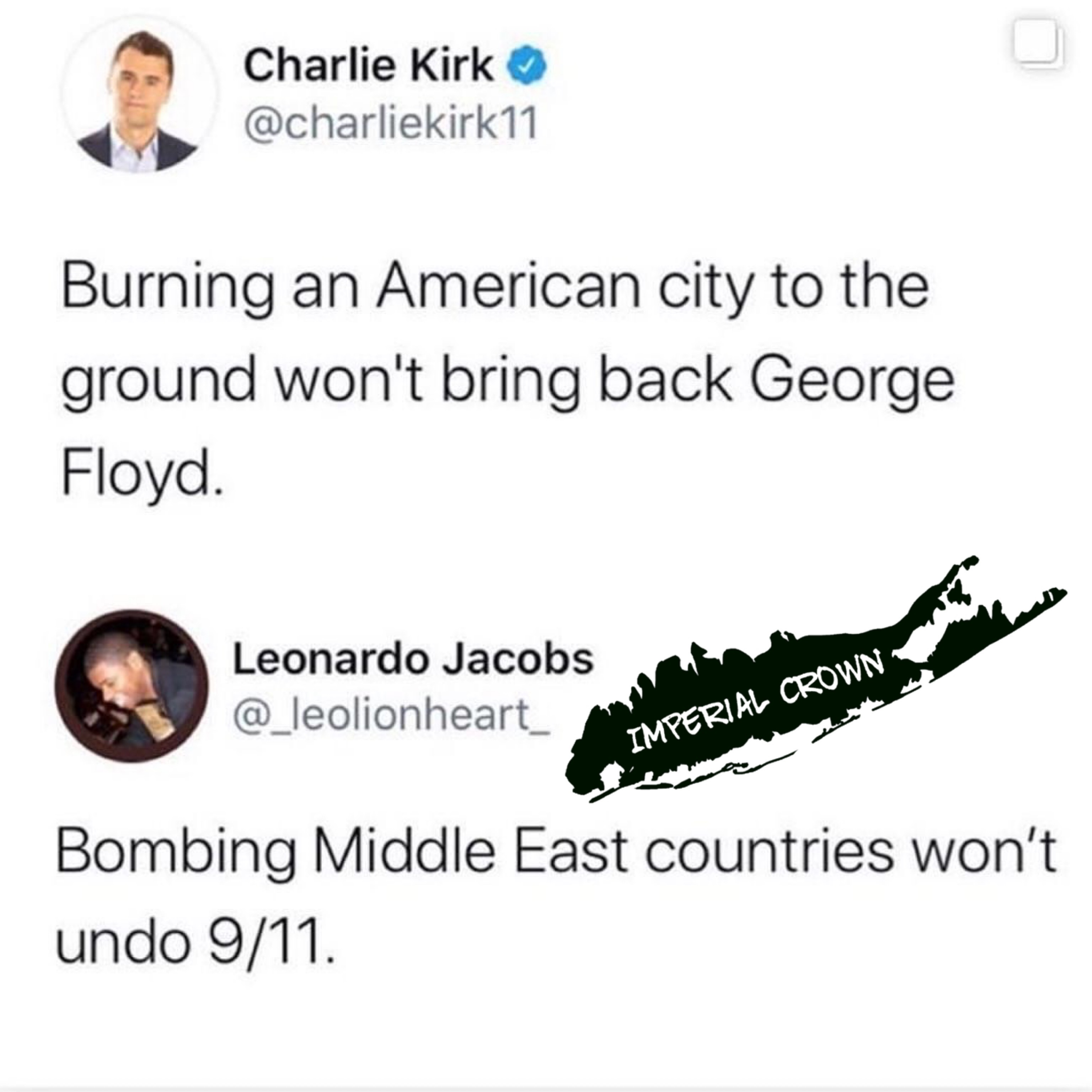 Burning an American city to the ground won't bring back George Floyd
