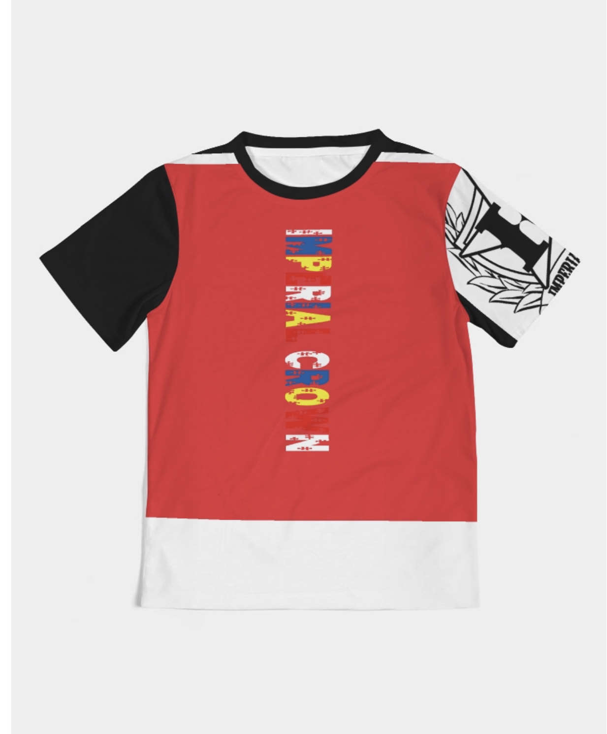 IC kids black,white,red  premium t shirt