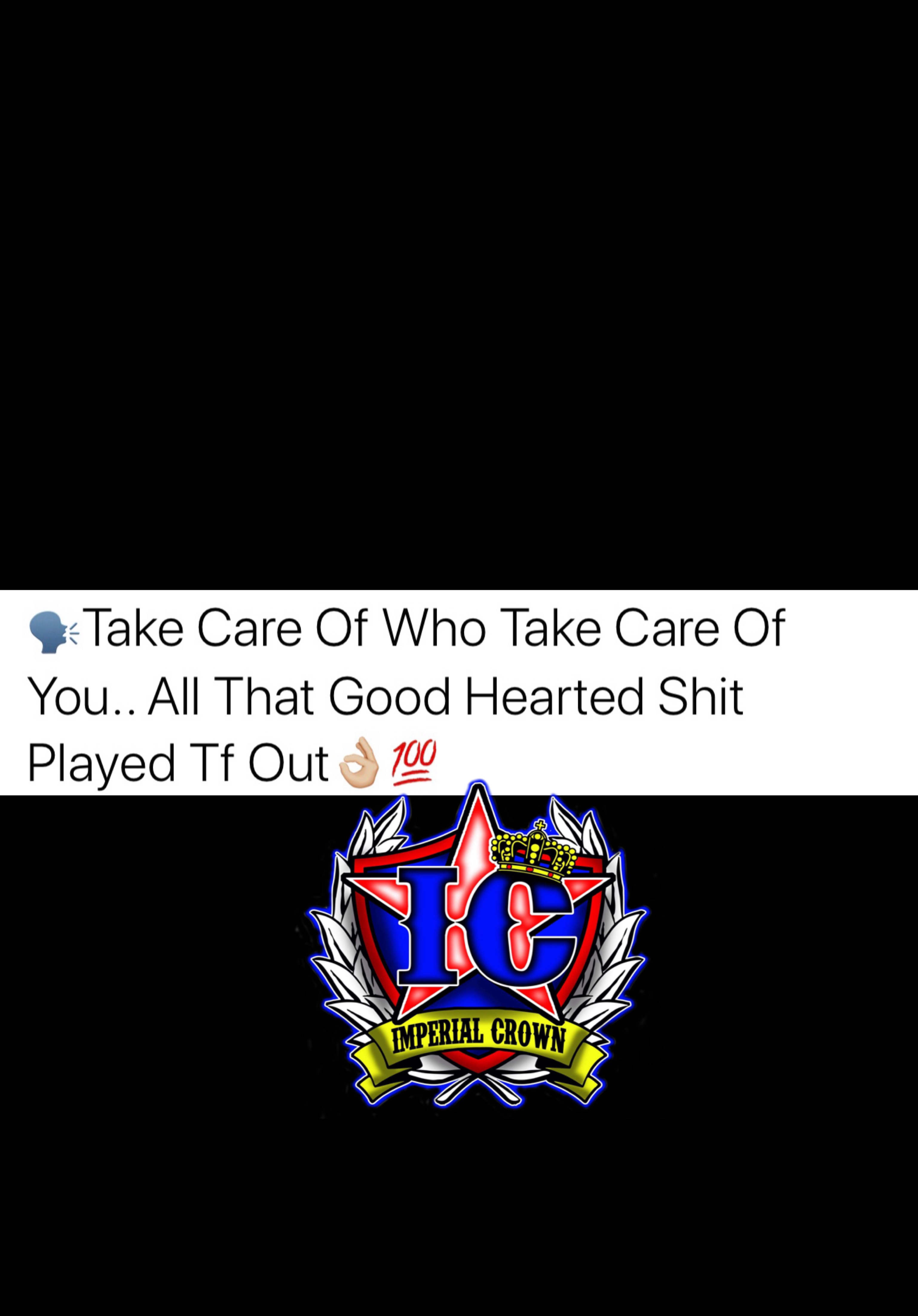 Take care of who take care of you